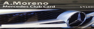 Mercedes Card Club - A. Moreno Mercedes-Benz